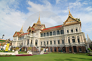 The Royal Grand Palace Stock Image - Image: 15692171