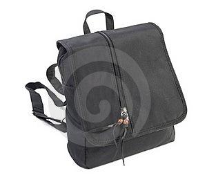 Female Bagpack   Isolated Royalty Free Stock Image - Image: 15694936