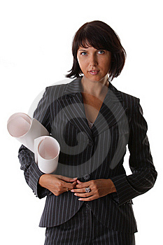 Beautiful Sexy Business Woman Stock Image - Image: 15698261
