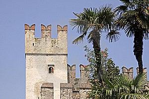 Sirmione, Scaliger Castle, Lake Garda, Italy Royalty Free Stock Photo - Image: 15698365