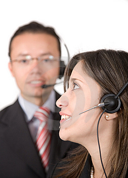 Business customer service Royalty Free Stock Photography