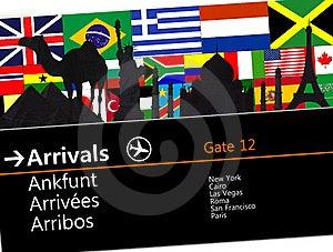 Poster Rnational De Larisa Como Ellos Stock Image - Image: 15700401