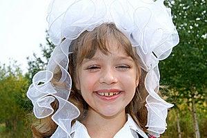 The Schoolgirl Smiles Stock Photography - Image: 15703892
