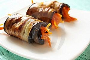 Eggplant Rolls Stock Image - Image: 15704491