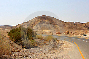 Road In The Desert Royalty Free Stock Image - Image: 15705466