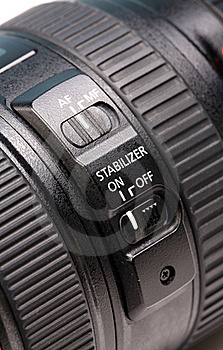 Image Stabilizer Controls Stock Photography - Image: 15707982