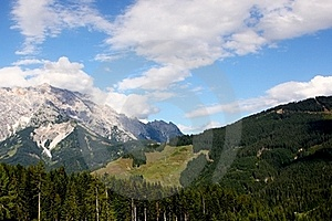 Alps - Maria Alm Stock Photos - Image: 15709553