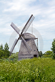 Old Windmil Royalty Free Stock Photos - Image: 15711178