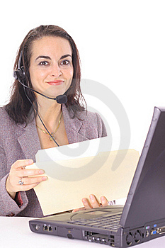 Happy Customer Service Royalty Free Stock Images - Image: 15711809