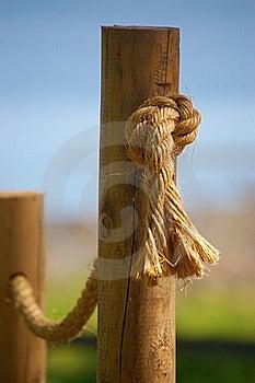 Beach Handrail Stock Image - Image: 15713361
