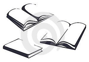 Sketches Of Books Stock Photography - Image: 15716872