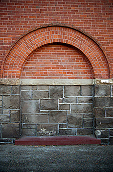 Brick And Stone Building Feature Royalty Free Stock Photo - Image: 15717405