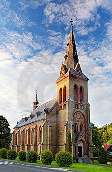 Nice Catholic Church Royalty Free Stock Photo - Image: 15718605