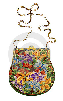 Old Lady's Handbag Royalty Free Stock Images - Image: 15718859