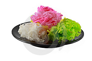 Traditional Thai Style Colorful Dessert Stock Image - Image: 15720041