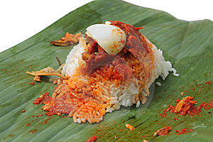 Nasi Lemak Stock Photo - Image: 15725410
