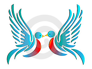 Birds Of Love Stock Images - Image: 15726814