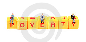 Thinking About Poverty Royalty Free Stock Photos - Image: 15727718