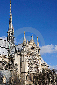 Notre Dame Cathedral, Paris Stock Photo - Image: 15728620