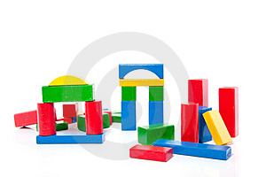 Wooden Play Blocks Stock Photography - Image: 15728772