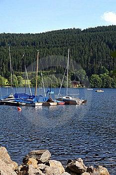 Yachts On Coast Of Lake Stock Images - Image: 15730394