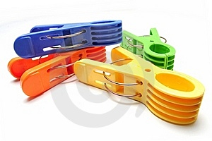 Clothes Pegs Royalty Free Stock Photography - Image: 15730997