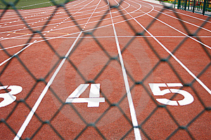 Sports Runway Royalty Free Stock Image - Image: 15731936