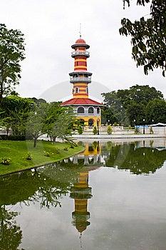 The Bang Pa-in Palace Stock Photo - Image: 15734300
