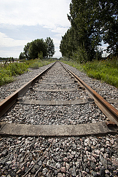 Railroad Track Stock Images - Image: 15736584