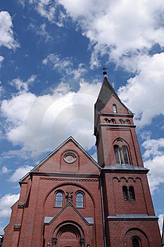Protestant Church Olpe Stock Image - Image: 15738161