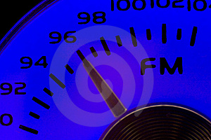 FM Dial Royalty Free Stock Images - Image: 15741159