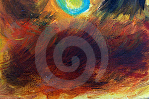 Abstract Oil Painting Background Royalty Free Stock Photography - Image: 15741977