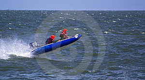 Speedboat Jumping Royalty Free Stock Photo - Image: 15744725