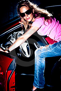 Step In Car Royalty Free Stock Photos - Image: 15745078
