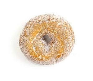 Donut On White Royalty Free Stock Image - Image: 15745156