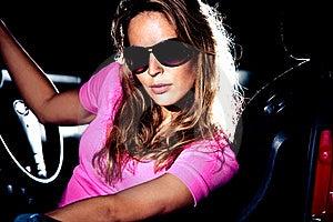 Portrait In Car Stock Photo - Image: 15745240
