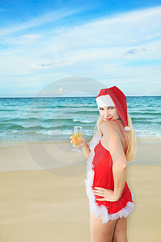 Santa's Helper Royalty Free Stock Photography - Image: 15749497