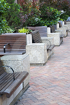 Benches Royalty Free Stock Photography - Image: 15749717