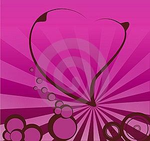 Retro Valentines Stock Image - Image: 15750081