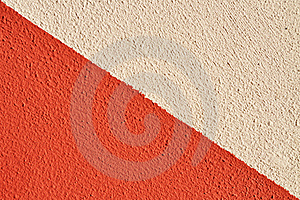 Two Colored Wall Royalty Free Stock Photography - Image: 15750157