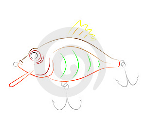 Fishing Lure Royalty Free Stock Photos - Image: 15751648