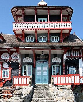 Village Pustevny, Czech Republic Royalty Free Stock Image - Image: 15752776