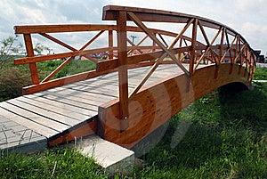 Wooden Bridge Royalty Free Stock Photo - Image: 15753535