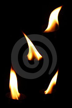 Burning Fire Flames Royalty Free Stock Photos - Image: 15755018