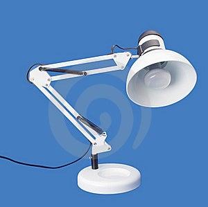 Desktop White Lamp Royalty Free Stock Photos - Image: 15755358