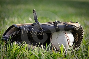 Glove And Baseball Stock Photos - Image: 15755993