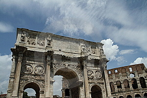 Arch Of Constantine Stock Images - Image: 15756784
