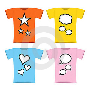 Twins Pregnant T-shirt Royalty Free Stock Image - Image: 15757346