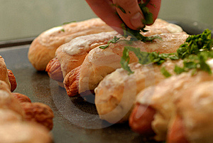 Sausage In Pastry Stock Photos - Image: 15757943