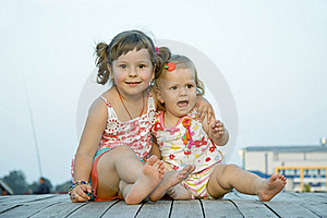 The Childhood Royalty Free Stock Photo - Image: 15760315